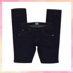 NWOT Hudson Dark Wash Straight Leg Jeans Long